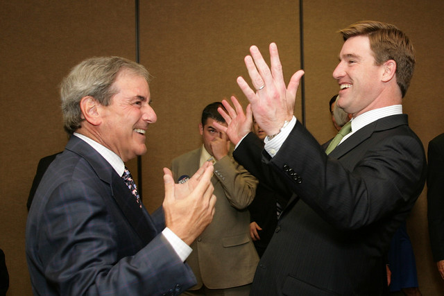 Congressman Yarmuth and Attorney General Conway