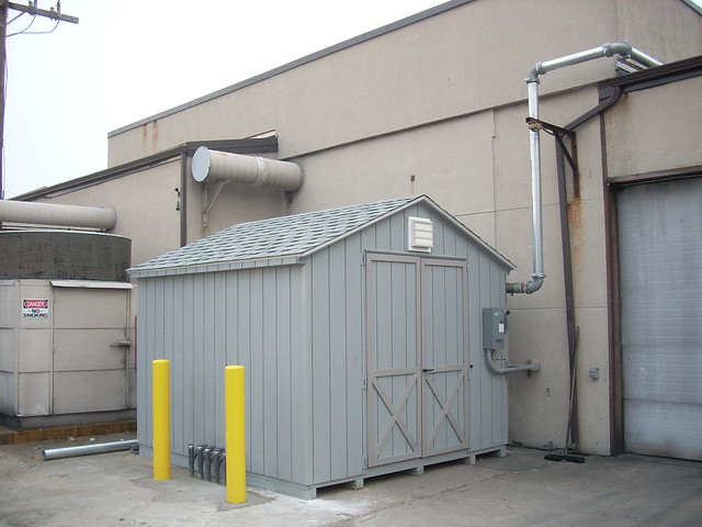 Shed Enclosed Soil Vapor Extraction System - Red Bank, NJ