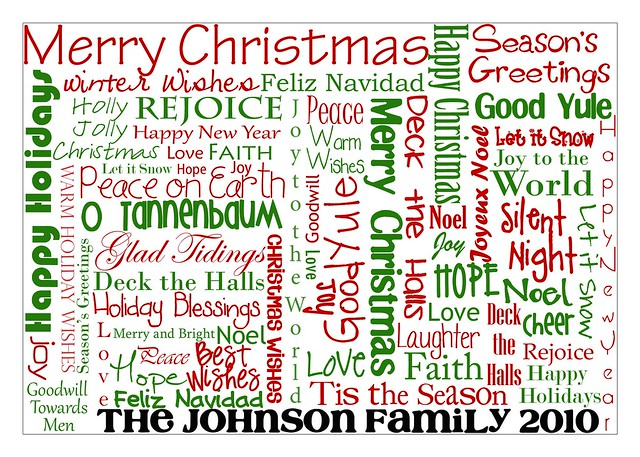 Merry Christmas Multi Word