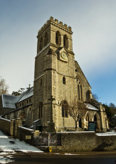 Beer Church (Alastair Cummins) Tags: snow church beer village devon