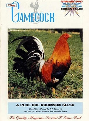 Cockfighting magazine