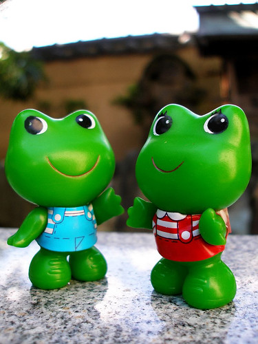 Temple frogs