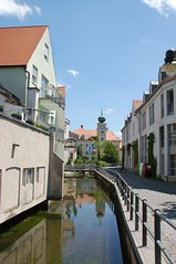 Canal in town (wunnspeed) Tags: germany bayern deutschland bavaria parents freising