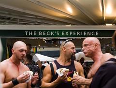 Beck's Experience (colorskyn) Tags: gay berlin beer lesbian bier becks baldmen streetfestival glatze schwullesbischesstrasenfest