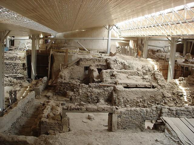Prehistoric Site of Akrotiri, Santorini
