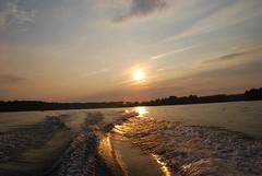 Sunset at Lake Anna (NoVa Hokie) Tags: sunset sky sun lake nature water clouds outdoors virginia lakeanna naturesfinest