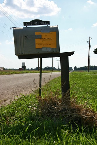 Mailbox and FEMA disaster form