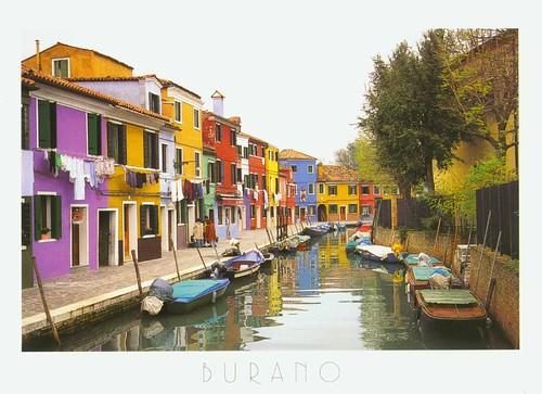Venezia的Burano小島