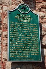 Historical Church (cmu chem prof) Tags: michigan upperpeninsula saultstemarie michiganhistoricalmarker