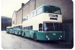 WYPTE (Andrew Stopford) Tags: travel urban bus travelling interesting travellers transport passengers transportation transit passenger halifax interest daimler fleetline psv wypte elmwoodgarage vcp840m