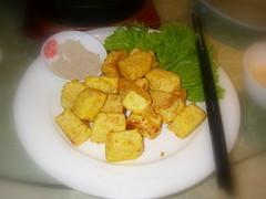 脆皮嫩豆腐