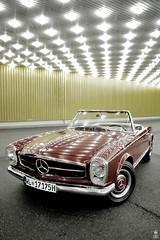 DSC_0316 (romanraetzke) Tags: auto classic car nikon d70 hamburg chrome mercedesbenz oldtimer lamps chrom lampen tankstelle
