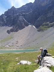 Resting by Lac des Rouites