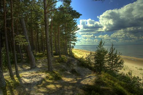 Latvian Coastline