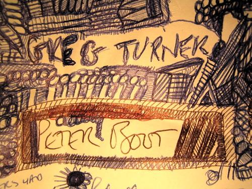 Greg Turner Peter Boot doodle