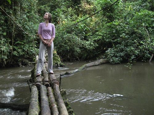 eleanor on Edoro bridge