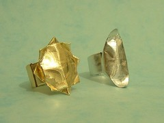 Anello Sole ed Anello Luna (Nocciola_) Tags: sun moon origami luna ring sole anello