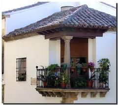 Blended balcony / Balcón doblado
