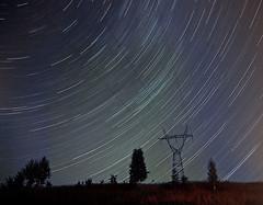 90 minutes (frischmilch) Tags: longexposure night stars movement nightshot stripes trails poland stellar orbit radial startrails mikołajki starstripes verylongexposure warminskomazurskie gettyvacation2010 sailingmasuria