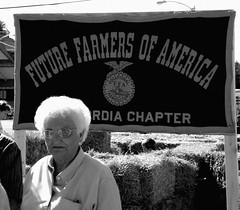 FFA (Menazort) Tags: old people bw plants white black sexy lady america death weed midwest grandmother farmers farming memories picture special soil elderly precious future upskirt sultry farmer hay agriculture granny anti geriatric ethel ffa goter futurerfarmersofamerica