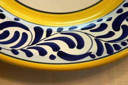 Deruta Plate Detail