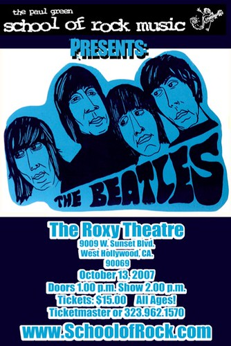 Paul Green School of Rock Music Presents A Tribute To The Beatles