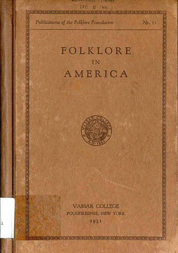 One of the books published by the Folklore Foundation