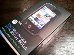 Motorola dext prova in corso