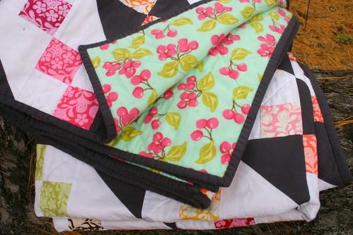 Henna Garden Quilt - backing