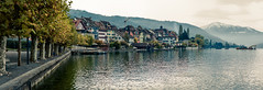 Old-Town Zug (MeckiMac) Tags: leica trees panorama lake water delete10 delete9 delete5 delete2 switzerland scenery europe delete6 delete7 save3 zug delete8 delete3 delete delete4 save save2 save4 m8 environment save5 oldtown stitched zugersee rigi worldregionscountries leicam8 deletedbydeletemeuncensored