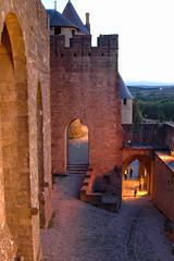 Carcassone17 (MikeLane) Tags: france southwest heritage history evening illumination medieval histoire soir aude carcassone patrimoine languedocroussillon sudouest