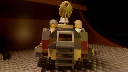Tatooine Taxi - Back view