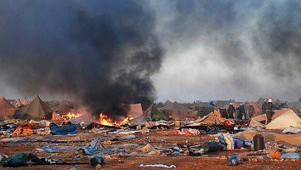 10k09 ABC AFP Campamento saharaui