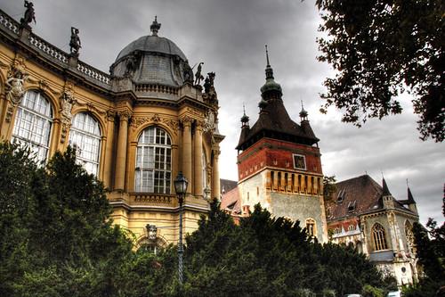 Vajdahunyad castle. Budapest. Castillo Vajdahunyad