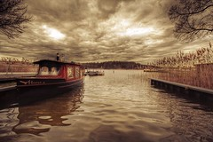 Horus (gari.baldi) Tags: sky lake nature water clouds canon germany 350d boat moving ship dramatic gimp wideangle garibaldi brandenburg hdr 2007 lightroom rheinsberg movingclouds photomatix sigma1020 supershot 100favs 1xp superaplus aplusphoto goldenphotographer eliteimages