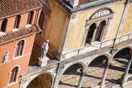Piazza Dei Signori, Verona Italy