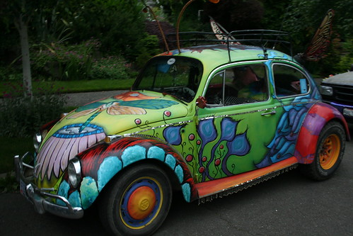 Flutterbug Art Car by Konnie Mae - Ashland, OR