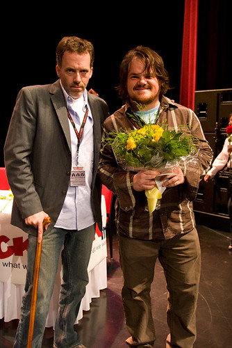 Hugh Laurie and Jack Black