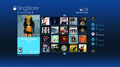 SingStar SingStore