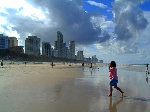 surfers paradise gold coast queensland. Surfers Paradise, Gold Coast, Queensland looking north