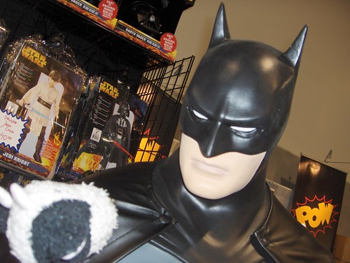 Never enter a staring contest with Batman
