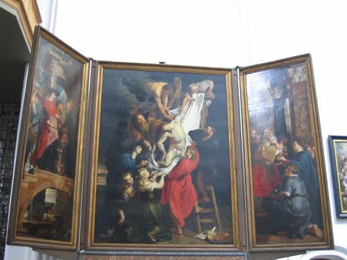 El Descendimiento de la Cruz de Rubens