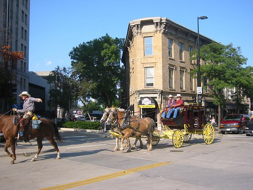Old West at the Square