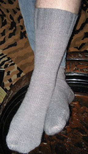 Grey Husband Sock