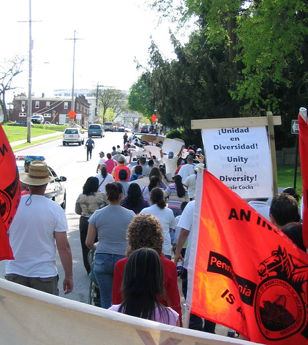La Marcha II: Looking toward town