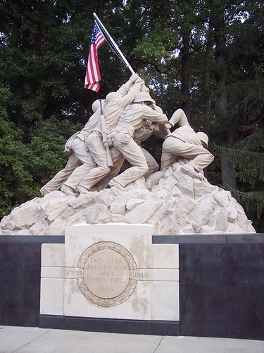 The Marine Corps War Memorial  - Battle of Iwo Jima