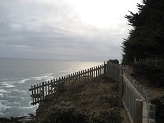 Fence at The Sea Ranch