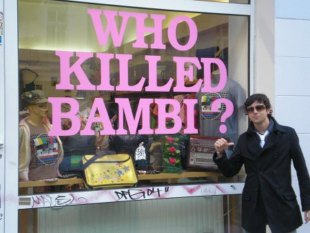 Santi killed bambi in Berlin