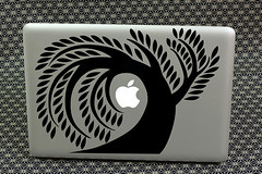 Apple and Tree MacBook Laptop Skin Sticker Decal