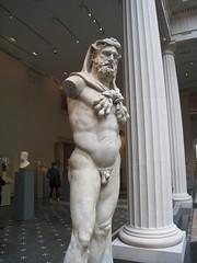 Herakles (cwinterich) Tags: themetropolitanmuseumofart greekandromangalleries